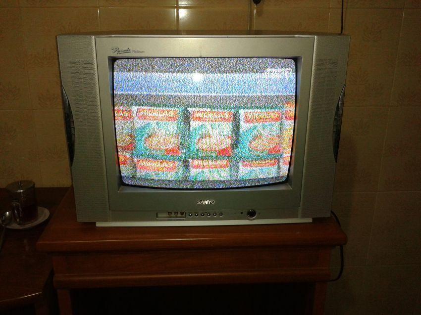 """Supaya TV-nya nggak semutan, Mbak"""