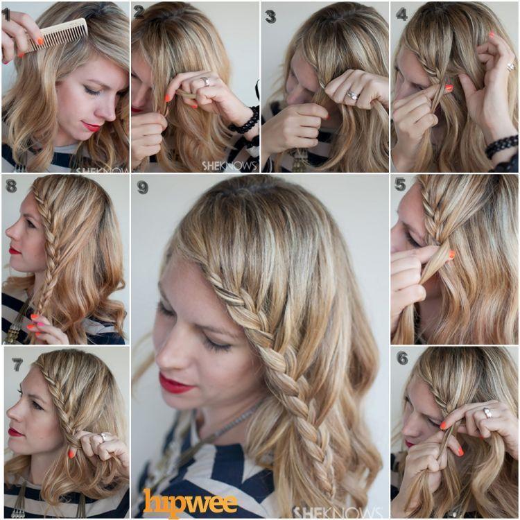Kreasi gaya rambut untuk si rambut pendek