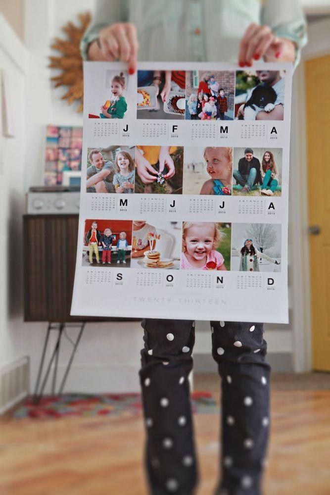 Bikin fotomu jadi kalender