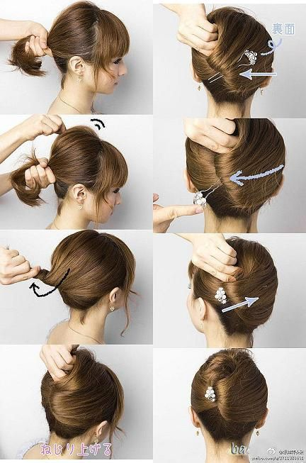 Kreasi rambut pendek agar lebih cantik