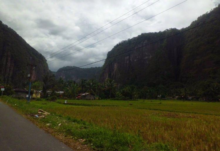 Menuju Lembah Harau