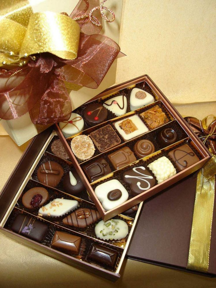 handmade chocolate for special someone