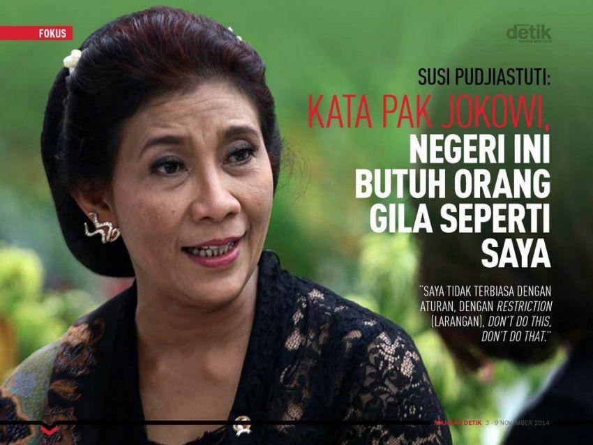 Kata Pak Jokowi Saya Gila