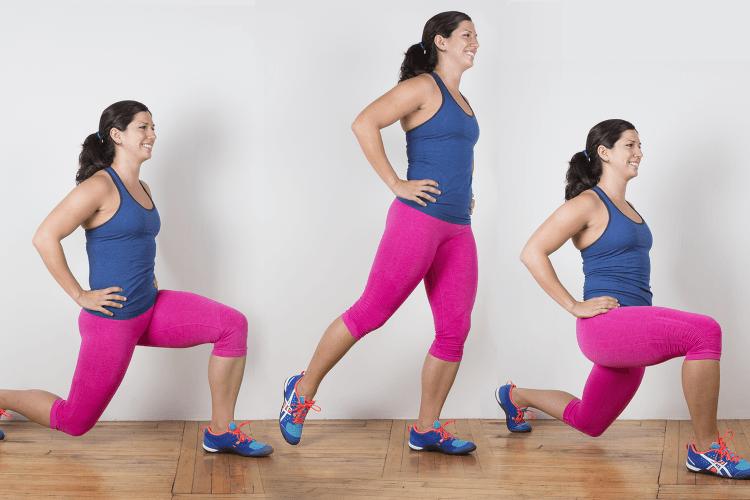 Gerakan peregangan pinggul dan kaki