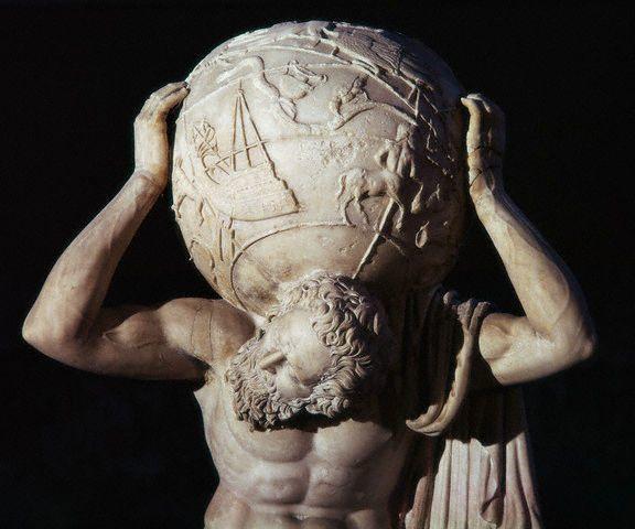 Atlas aja kuat memanggul bumi bertahun tahun