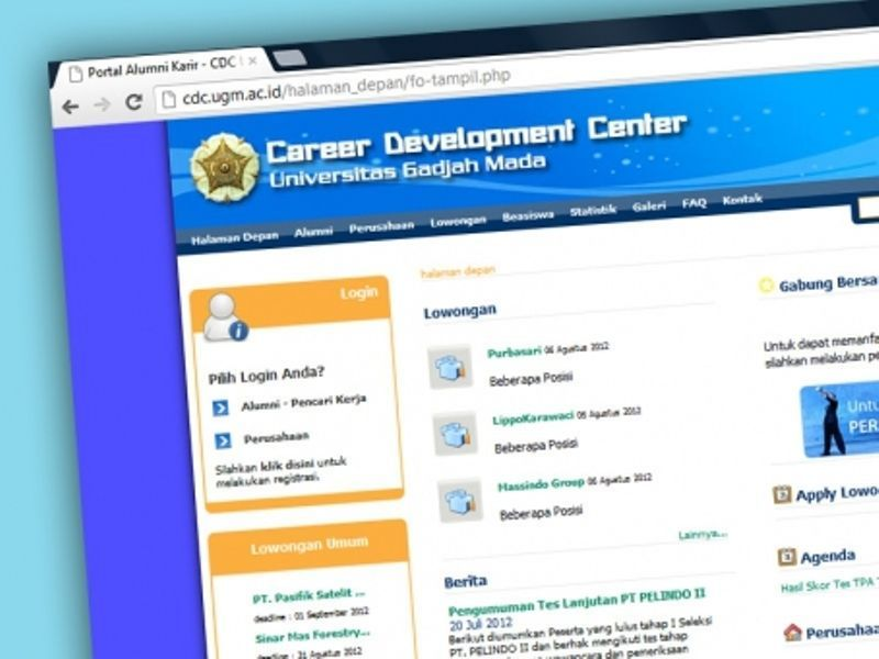 Manfaatkan pusat pengembangan karir universitas