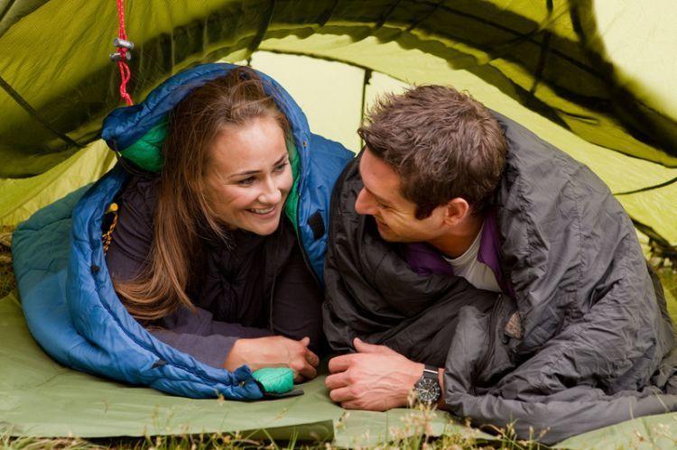camping itu romantis!