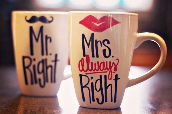 Mr. Right & Mrs. Always Right