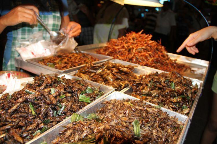 Street food di Khao San