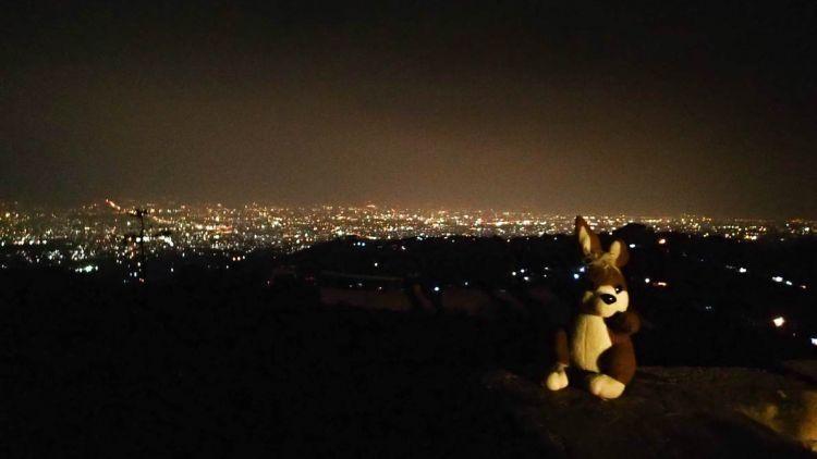 Pemandangan dari Bukit Moko, Bandung