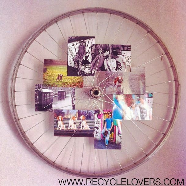 Recycle bicycle rim