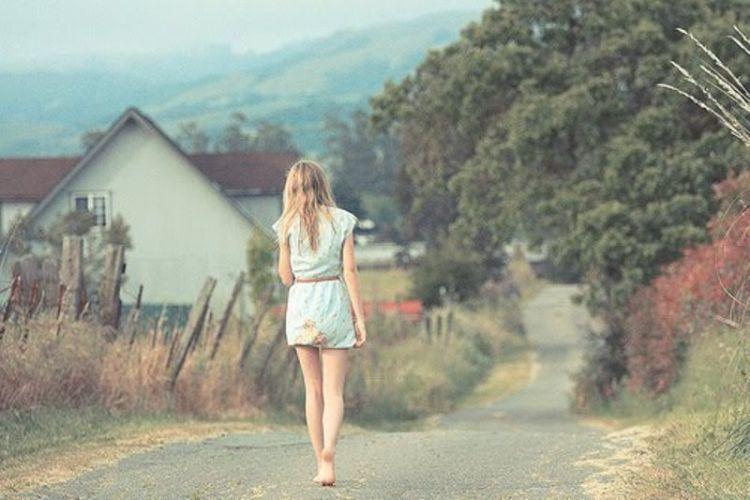 percayalah bahwa kamu bisa berdiri di atas kaki sendiri