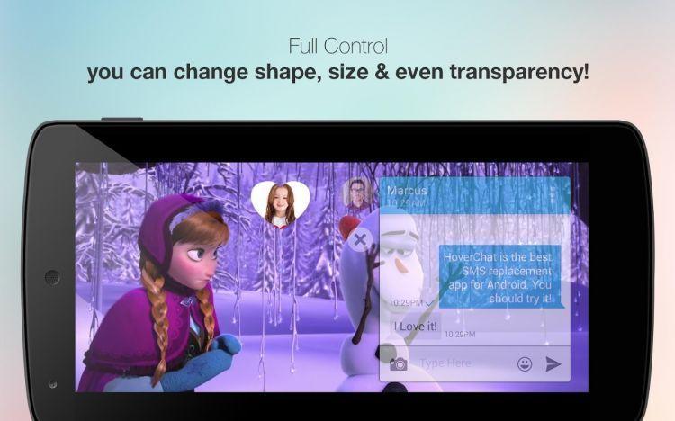 SMS-an sambil nonton Frozen? Bisa!