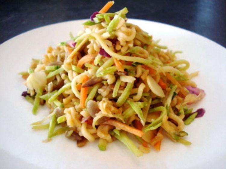 mie salad sayur