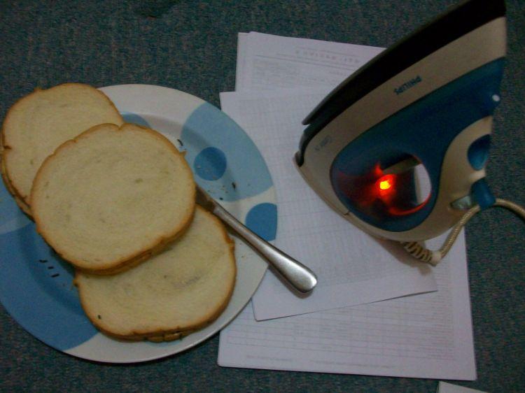 roti bakar setrika
