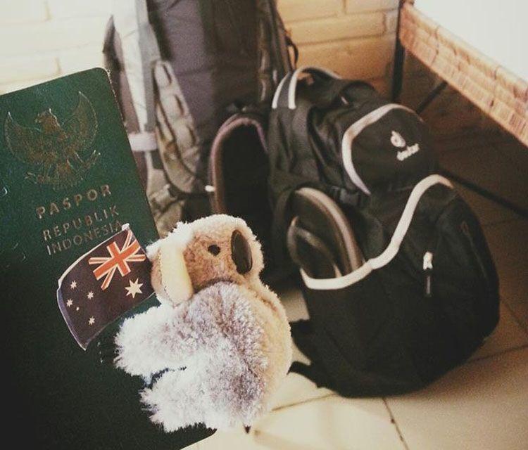 Persiapan berangkat ke Aussie dengan WHV.