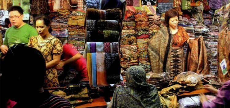 batik pasar Klewer