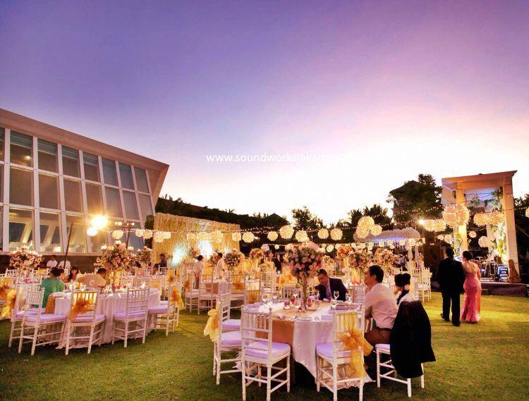 Pesta pernikahan yang sempurna butuh persiapan yang serius pula