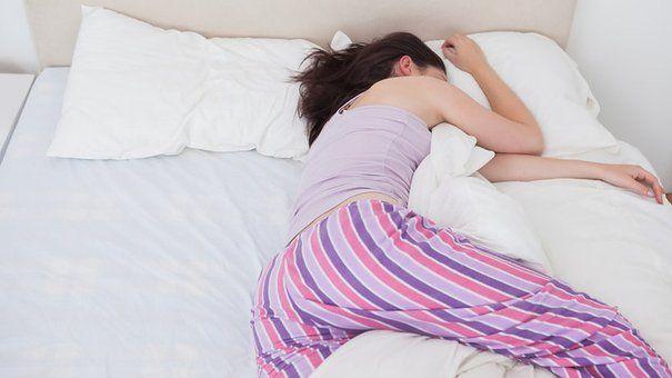 Efek tidur miring ke kiri