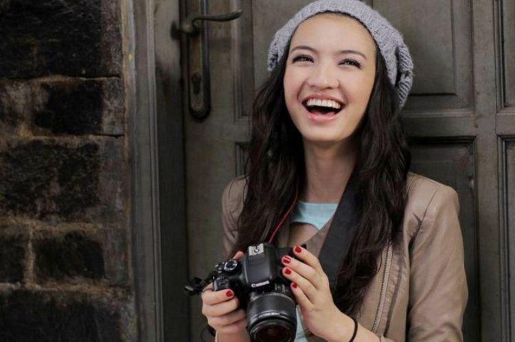 Kamu cantik saat kamu bahagia