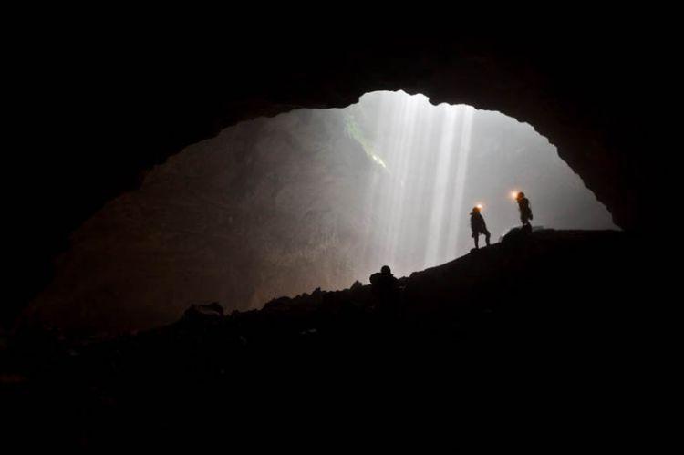 Cahaya di Goa jomblang