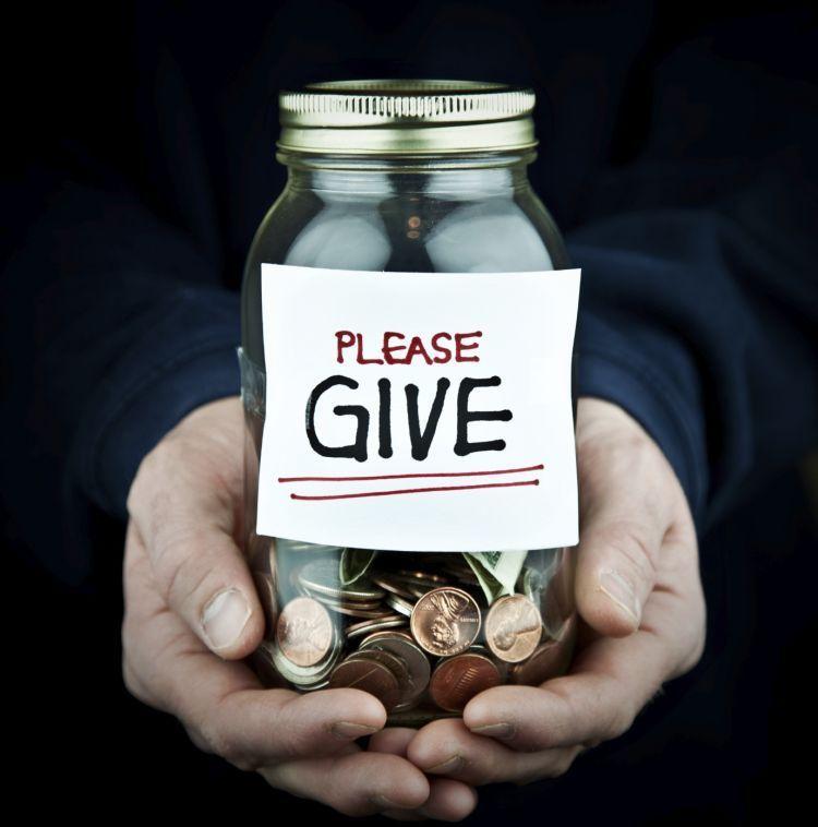 Donasikan uangmu