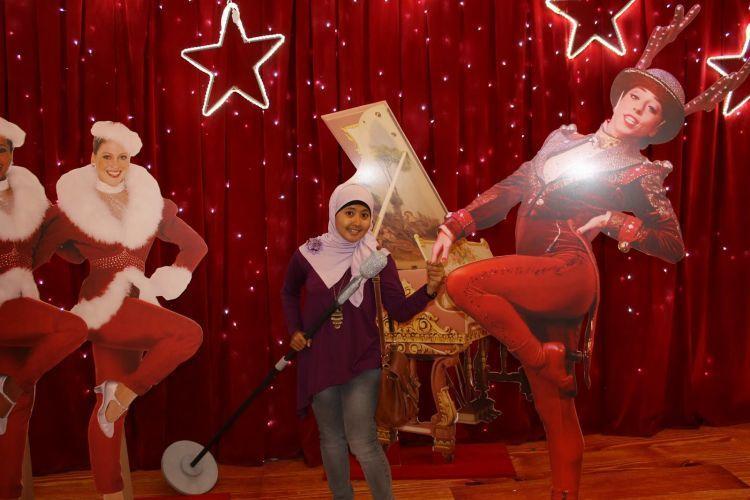 dekorasi natal bisa dinikmati semua kalangan