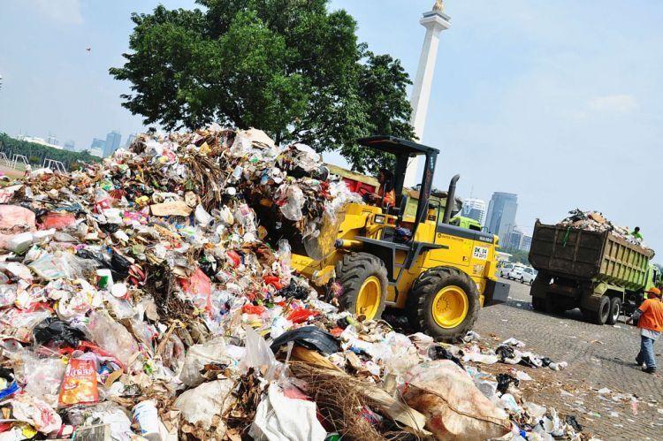 Sampah menggunung