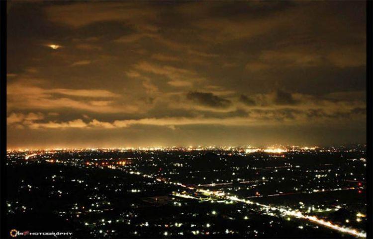 Pemandangan dari bukit bintang