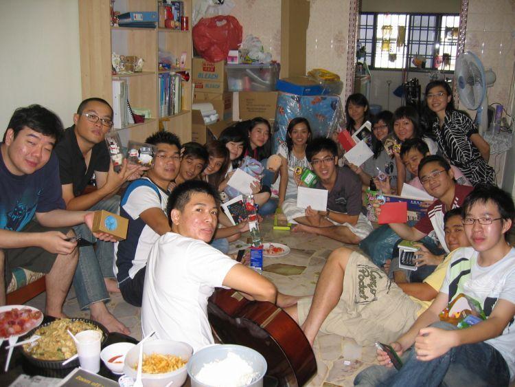Momen kumpul bersama keluarga