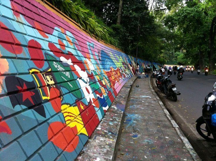 Ruas Jalan di daerah Babakan Siliwangi