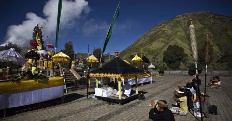 Prosesi upacara Yadnya Kasada