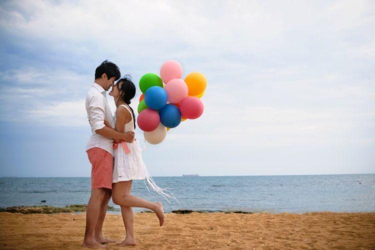 jarak tak ada artinya jika cinta yang bicara
