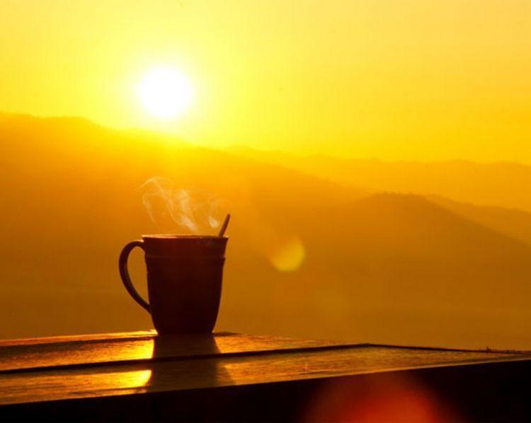 bangun lebih pagi setiap hari