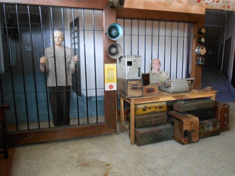 Penjara besi di Museum Malang Tempo Doeloe