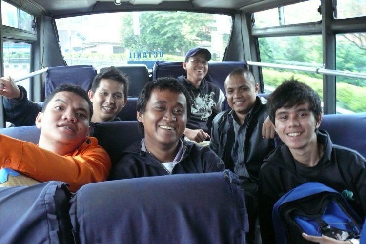 Perjalanan ke Dieng dengan bus