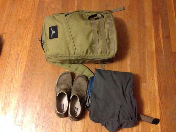 Packing minimalis