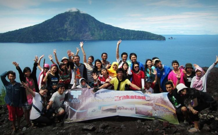 Keindahan Krakatau