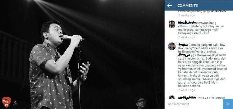 Instagram artis jadi lapak dagangan