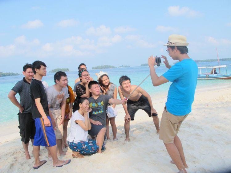 Liburan bareng teman ke Pulau Seribu. Mau?