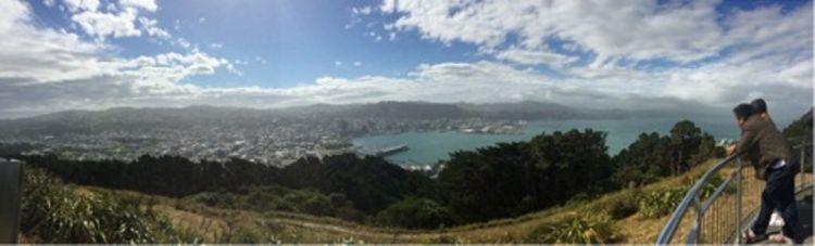 Mount Victoria Lookout, Wellington, via Azarine Kyla Arinta.