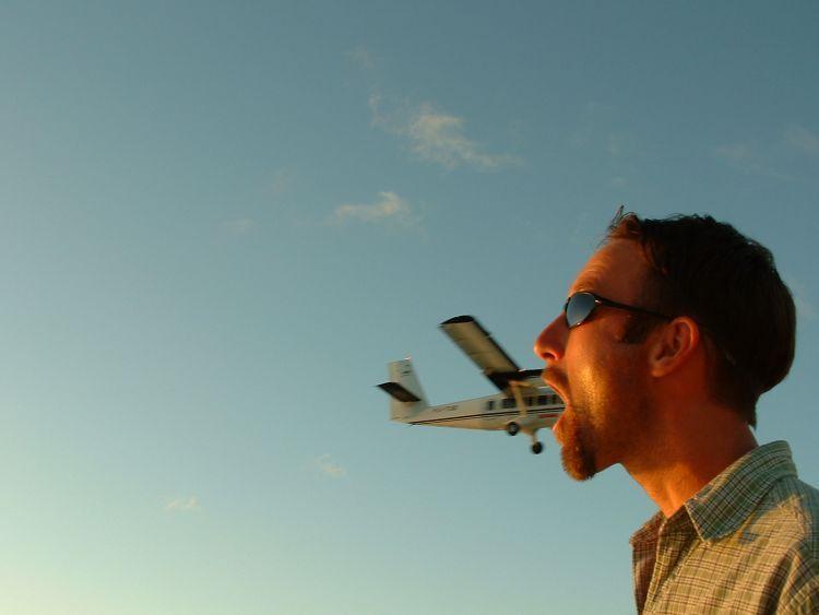 Makan pesawat terbang