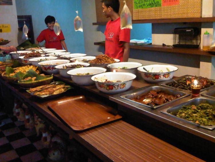Perbanyak menu sayur