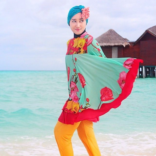 Baju renang buat yang pakai jilbab