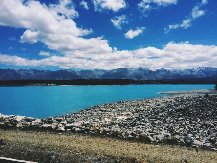 Lake Pukaki via Azarine Kyla Arinta.