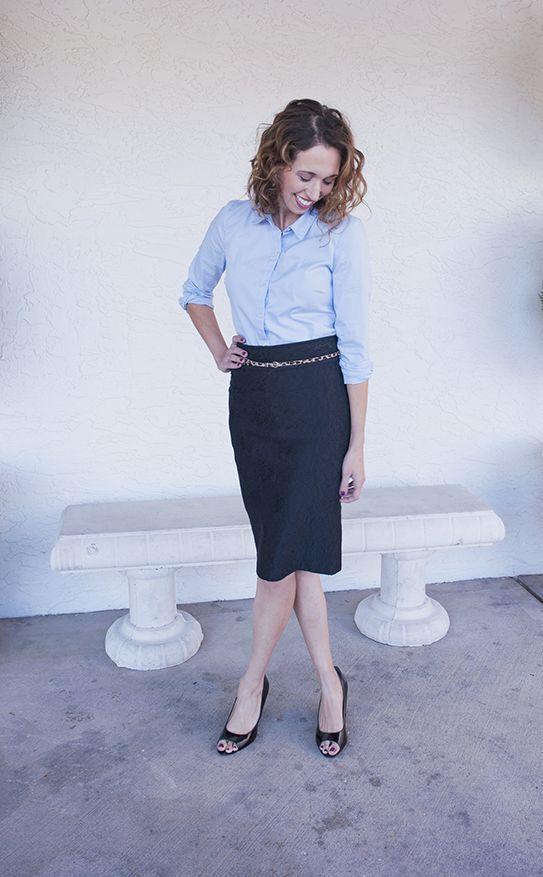 Biru, salah satu warna terbaik untuk dipakai saat interview