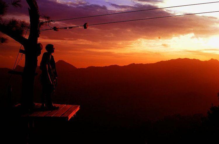Senja di Kalibiru