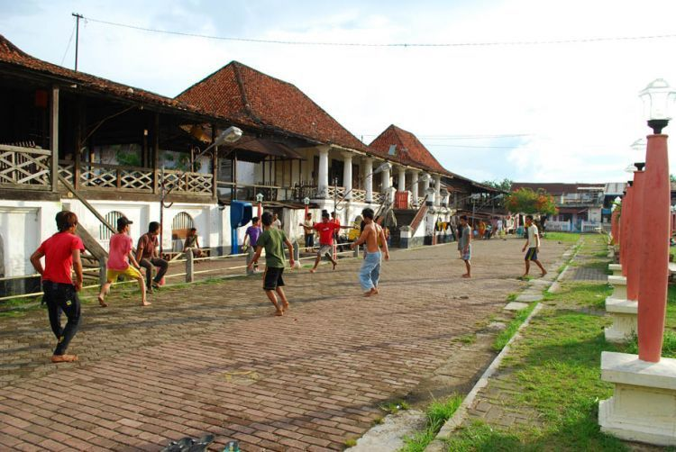 Suasana Kampung Kapitan