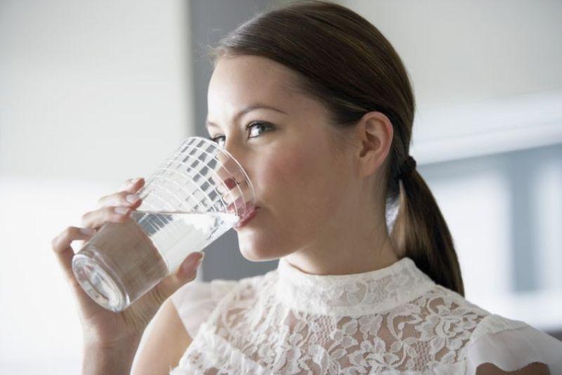 Minum air putih saja