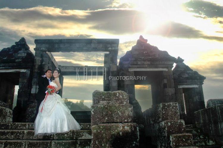 Prewedding di Ratu Boko